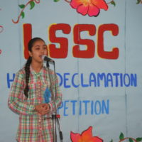 LSSC HINDI DECLAMATION COMPETITION (08.08.17)